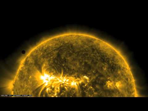 NASA SDO The Venus Transit