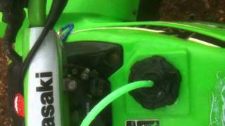10. Kawasaki mojave 2003 250 video