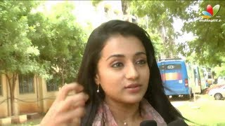 Jayam Ravi, Trisha Krishnan Interview | Boologam Movie Shooting Spot | Prakash Raj | Making