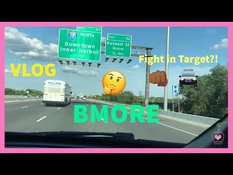TARGET TRIP | HAVING FUN FOR FREE IN BALTIMORE INNER HARBOR TOUR | VLOG
