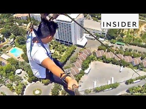 Vertical Zip Line is a Guaranteed Adrenaline Rush