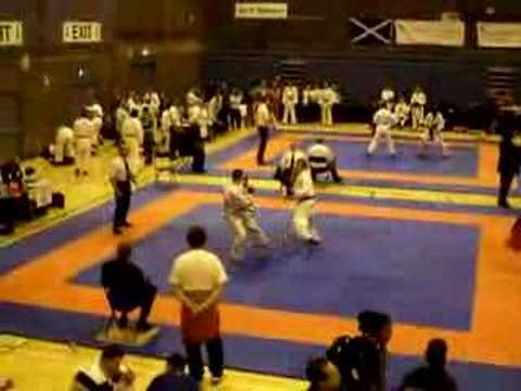 Paul James – Commonwealth Karate Open 2008