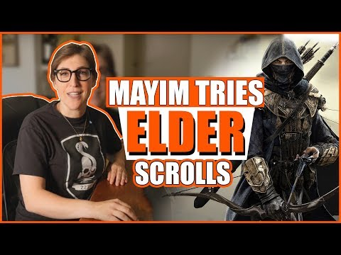 Playing Elder Scrolls Online: Part 1 || Mayim Bialik