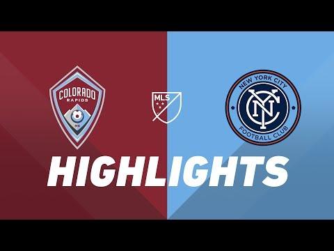 Video: Colorado Rapids vs. NYCFC | HIGHLIGHTS - July 20, 2019