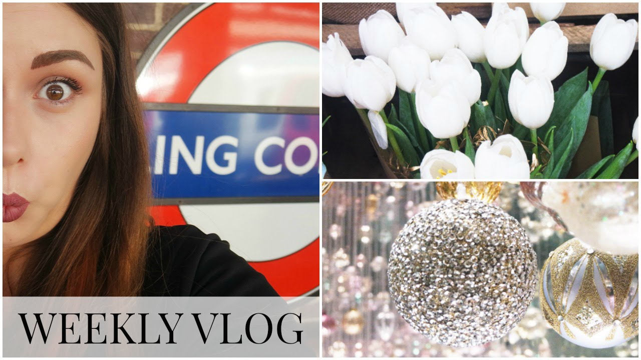 Weekly Vlog #9 - A Trip to London, 3D Eyebrow Tattooing & Christmas in July