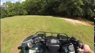4. 2008 Yamaha Grizzly 700 test run
