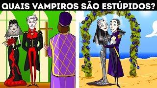 Fotos engraçadas - Charadas De Vampiros + Enigmas Lógicos Que Vão Melhorar O Seu Cérebro