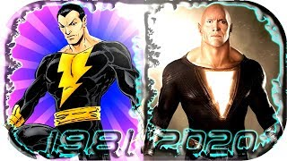EVOLUTION of BLACK ADAM in Movies Cartoons TV Games (1981-2020) ⚡ Black Adam 2019 shazam scene clip