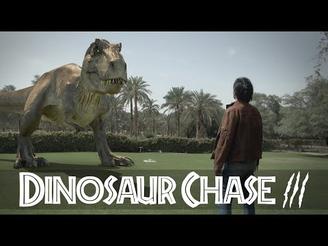 T-Rex Chase - Part 3 - Jurassic World Fan Movie