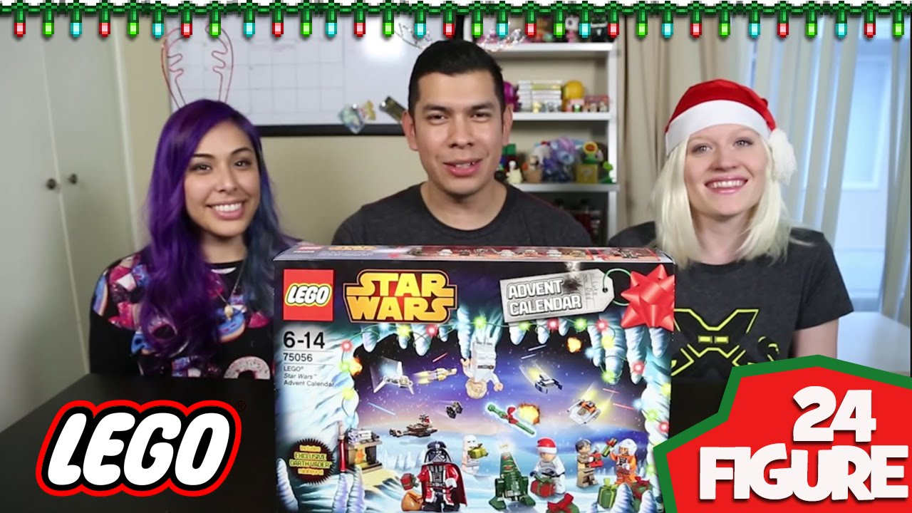 Lego Star Wars Advent Calendar! Full 24 Figure Unboxing!