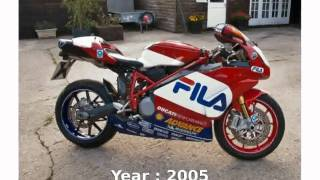 4. Ducati 999R Fila  Details Info