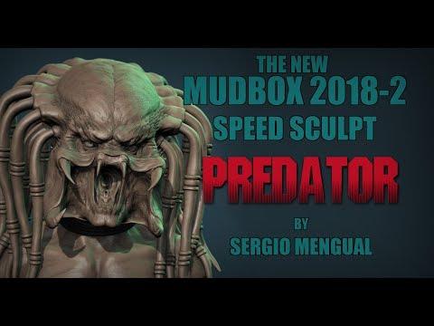 Mudbox 2018.2 Predator Dynamic Tessellation Speed Sculpt