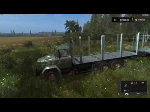 Kraz 6233 M6 Log truck NEW v1.0
