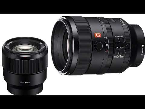CORRECTION - $1500 t5.6 lens and a bargain 85mm - 2 new Sony Lenses