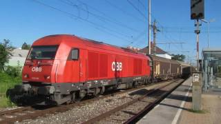 Himberg Austria  City pictures : Treni a Himberg - Züge in Himberg