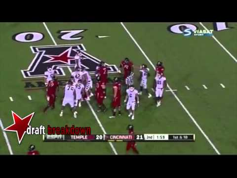 Tyler Matakevich vs Cincinnati 2013 video.