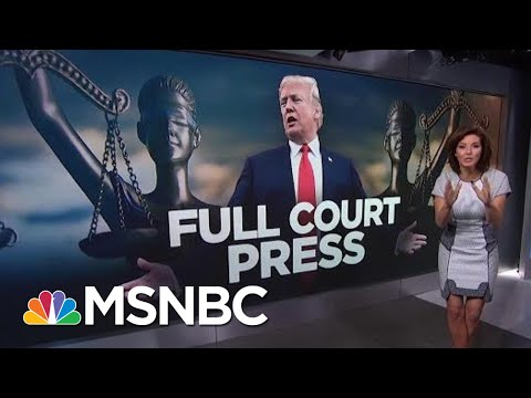 President Trump Suggests He Is Being 'Persecuted' By His Legal Enemies   Velshi & Ruhle   MSNBC