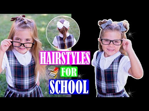 Easy hairstyles - 3 Easy Back to School Hairstyles 2018