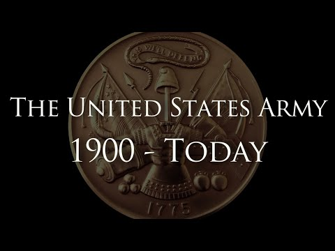 """""""The United States Army: 1900 - Today"""" - A History of Heroes"""