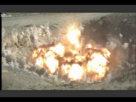 Turkey Tests Its Own Bunker Buster Bomb- MKE Nüfus Edici Bomba (видео)