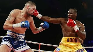 Adonis ''Superman'' Stevenson vs Tony ''Bomber'' Bellew2013-11-30 at Quebec city, CanadaWow 11 000 subscribers! Thanks you guys for subscribing to my channel even if I do not upload often !  It's been a while... sorry! I will do my best to fix this.I will upload more highlights soon and I have a new video project about boxing that I will probably try. I really think you guys will like it!I hope you will enjoy this video. Soundtrack from NCM Free Music , Epic cinematic musichttps://www.youtube.com/channel/UCHEioEoqyFPsOiW8CepDaYg