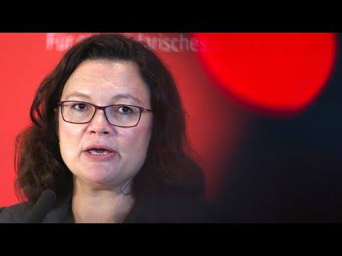 Nahles fordert von Maaßen Beweise nach Hetzjagd-Aussa ...