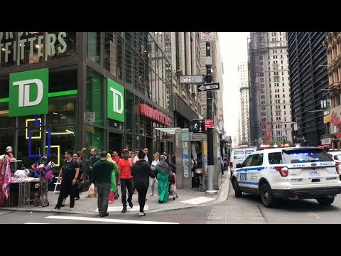 Multiple Bank Robbery suspect apprehended in Lower Manhattan NYC
