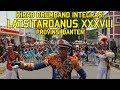 Kirab Drumband Integrasi Taruna Akmil Aal Aau Akpol Dan Ipdn Latsitardanus Xxxviii Prov Banten