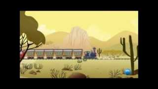 initial composition of the series with the little train