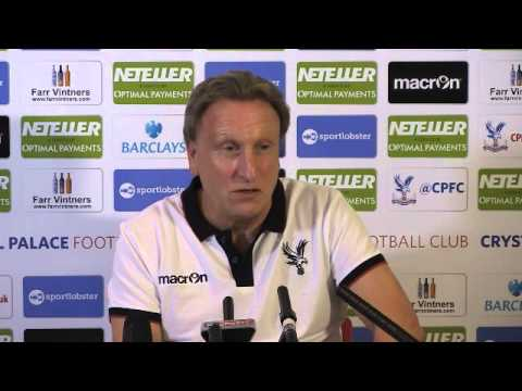 neil - Neil Warnock takes his first press conference after making his return to Crystal Palace FC.