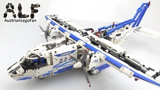 Lego Technic 42025 Cargo Plane - Lego Speed Build Review