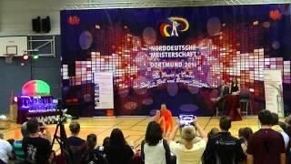 Julia Geishauser & Patrick Pfaller - Norddeutsche Meisterschaft 2014