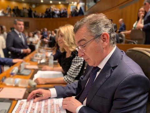 Así ha comenzado la #XLegislatura en las Cortes de Aragón