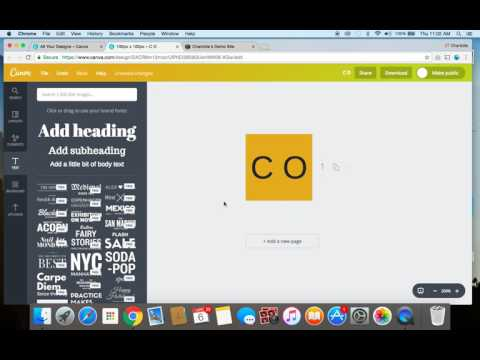 How To Create A Favicon With Canva And Upload It To Your Squarespace Website
