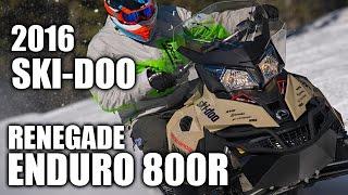 9. TEST RIDE: 2016 Ski-Doo Renegade Enduro 800R