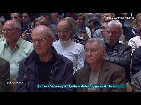 12. SPD-Regionalkonferenz in Berlin - sieben Kandidat ...