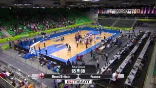 Postgame D. Clark, T. Parker GBR-FRA EuroBasket 2013
