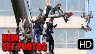 Iron Man 3 First Look - Set Photos (2013)