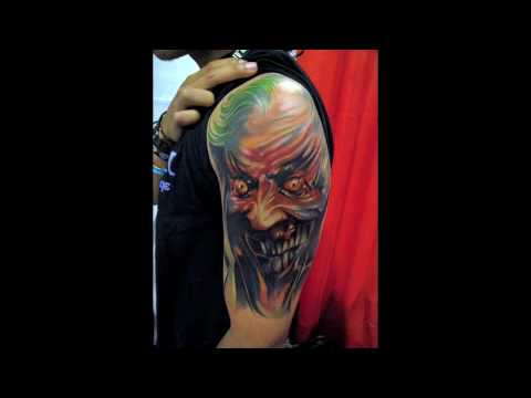 Incredible Color Portrait Tattoo Artists