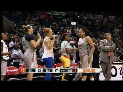 Danielle Adams Sets a Silver Stars Record! 39pts. - Silver Stars vs. Dream