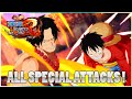 One Piece Unlimited World Red All Special Attacks