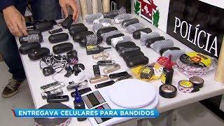 Polícia de Sorocaba investiga entrega de celulares em presídios