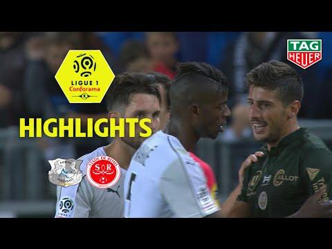 Amiens SC - Stade de Reims ( 4-1 ) - Highlights - (ASC - REIMS) / 2018-19