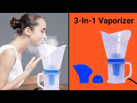 Mcp Vaporizer - Facial Sauna and Nose Steamer 3 In 1 Steam Inhaler | How to Use Steam Vaporizer ✅