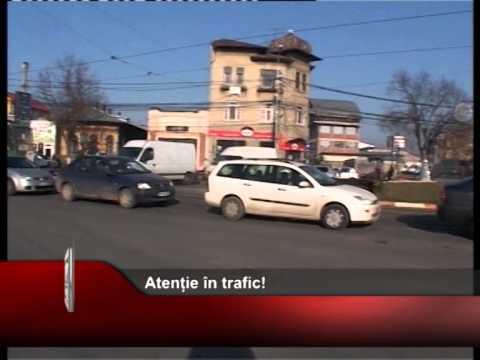 Atenție în trafic!