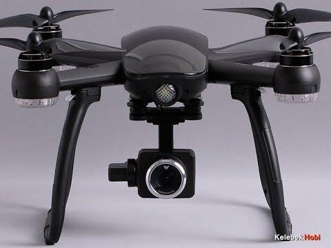 Geniş Açı 1080P HD Hareketli Gimbal Kameralı Brushless WL Drone