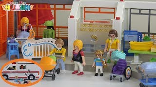 [ 제니 플레이 ] 플레이 모빌 임산부 장난감 , 아기 너저리룸 장난감 !! 동생이 생겼어요