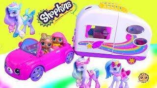 Video Rainbow Beach Camper + Unicorns ! Happy Places Shopkins Shoppies Summer Toys MP3, 3GP, MP4, WEBM, AVI, FLV Oktober 2018