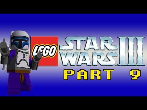 preview-Gaming with the Kwings - Lego Star Wars 3 part 9 (Wii) co-op (Kwings)