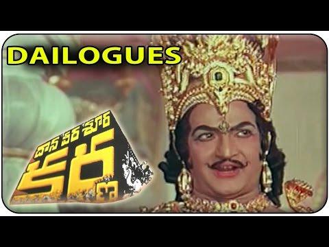 Video Acharyadeva Famous Dialogue From Daana Veera Soora Karna || NTR , Sharada , Saroja Devi download in MP3, 3GP, MP4, WEBM, AVI, FLV January 2017